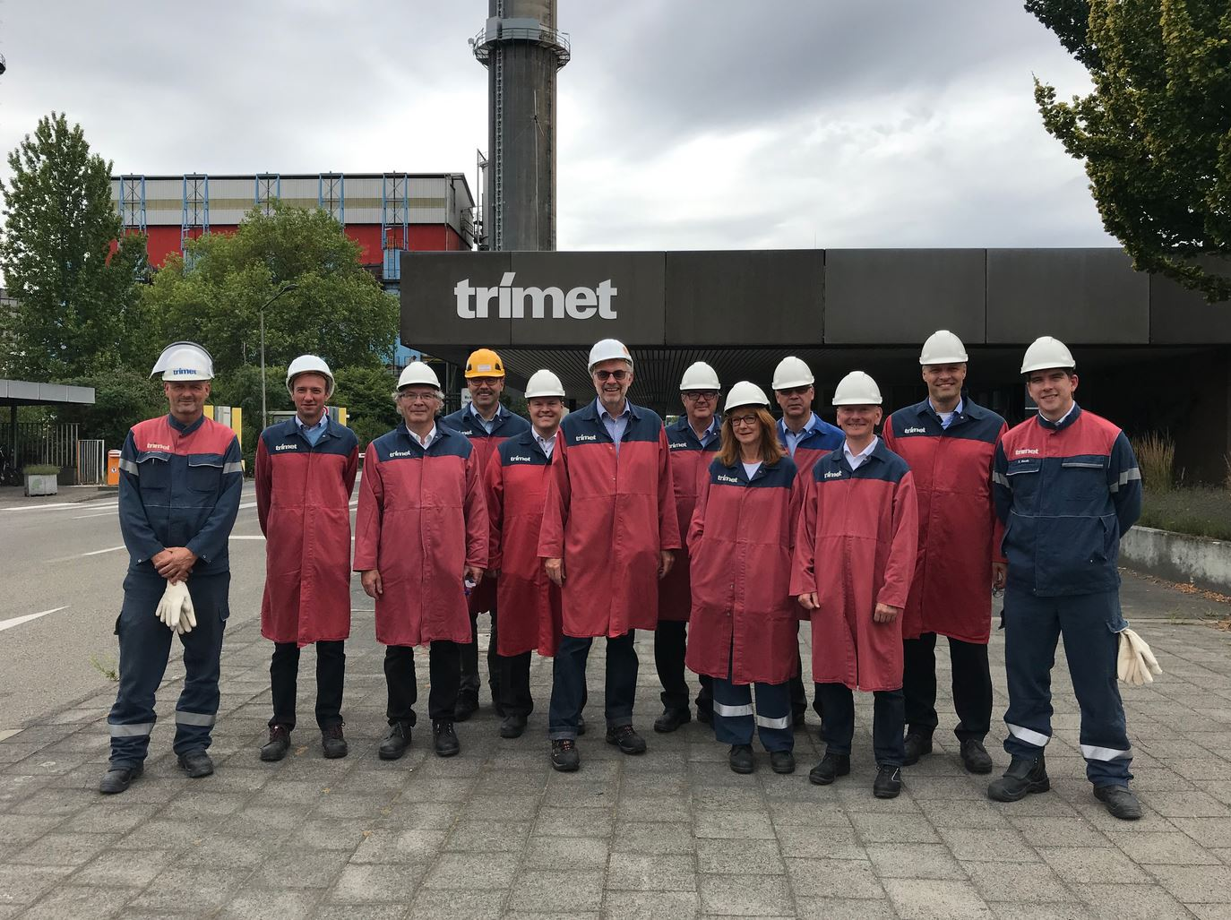 trimet kick off - 07.2019 Kick-off for 200kA superconducting busbar